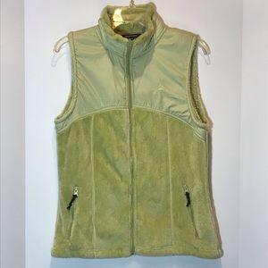 Super soft Snozu lime green zip vest